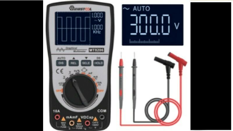 Mustool MT8206 Scope Meter - suitable for Automotive testing - call or WhatsApp 079 088 8778