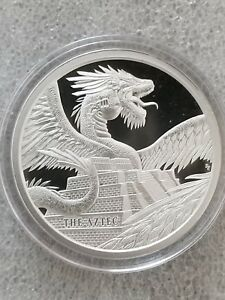 The Aztec World Of Dragons Series 1 Oz 999 Silver