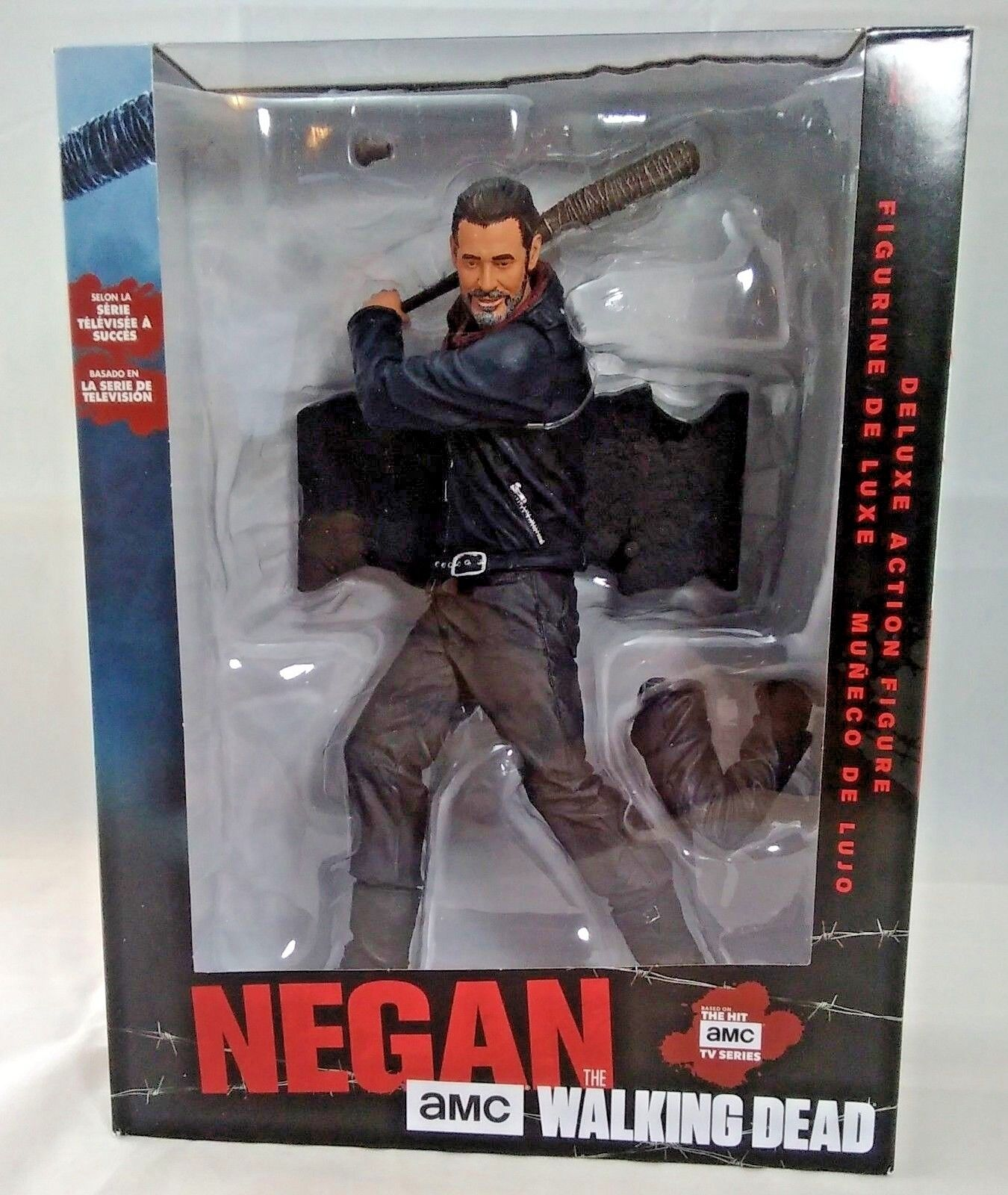 McFarlane Toys  Negan with Lucille 10  Deluxe Figure Figure Figure with stand The Walking Dead 3f6503
