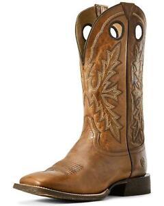 ARIAT SIERRA Men/'s Wide Square Plain Toe Western Cowboy Work Boots #10010148