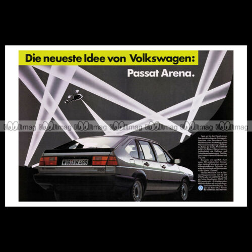 B2 TYPE 32B 1985 A4 Advert Reprint #phpb.001676 Photo VOLKSWAGEN PASSAT ARENA