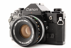 exc-5-Canon-a-1-35mm-SLR-Film-Kamera-mit-FD-50mm-f1-8-S-C-Objektiv-aus-Japan