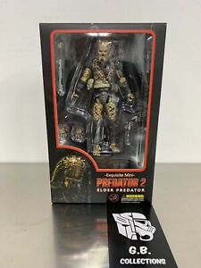 Hiya-Toys-Predator-2-Elder-Predator-1-18-Scale-Action-Figure-New-Sealed