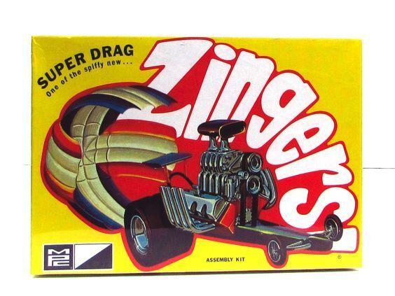 MPC 737  Super Drag Zingers plastic model kit 1/32