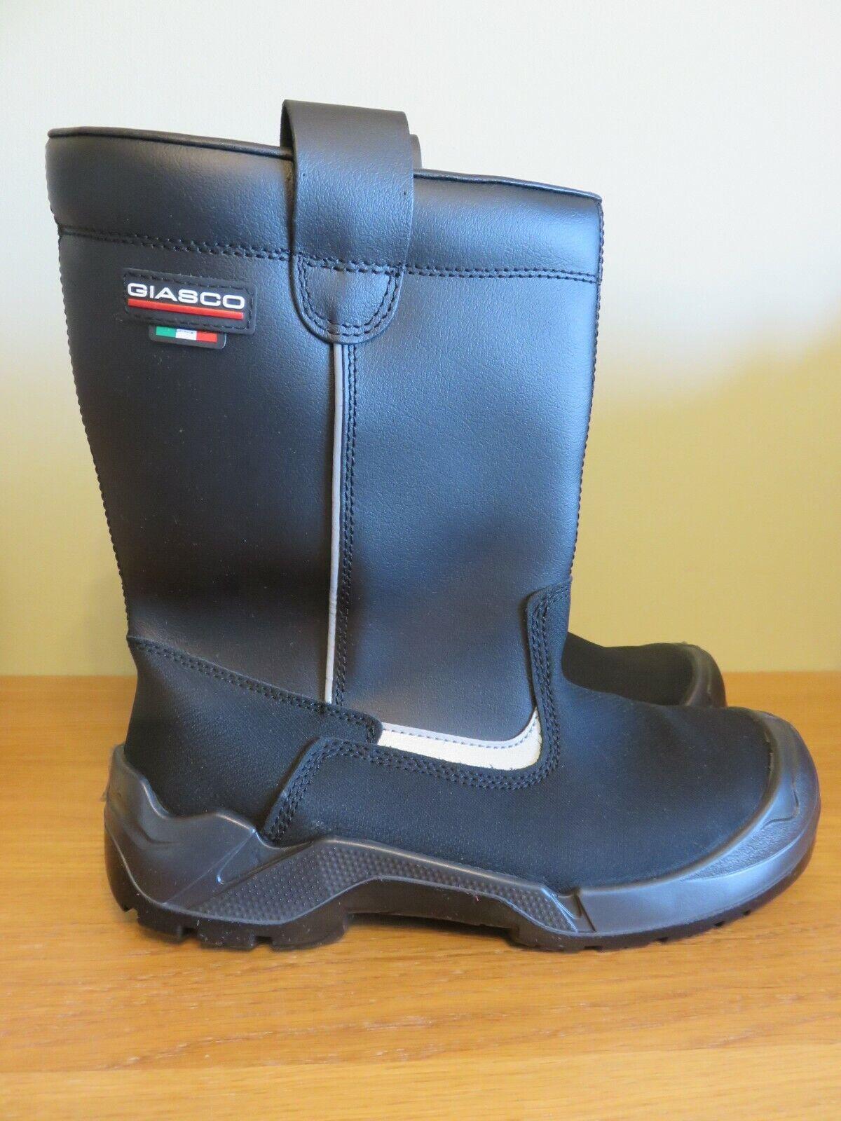 Giasco Dakota S3 CL Safety Boot - Size 43 (UK 9) - Black - NEW - Bargain Price