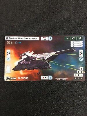 Keyan Farlander Star Wars Armada B-Wing Sqn Promo Alt Art Card