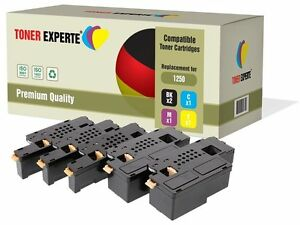 Pack-de-5-Cartuchos-de-Toner-Laser-compatible-Dell-1250-NON-OEM