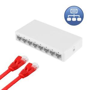8Ports-Gigabit-Switch-RJ45-Ethernet-Switch-10-100-Mbps-Hub-inteligent-Switcher