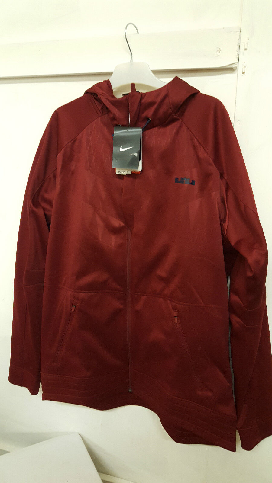 NEW NIKE MENS rot ZIP LEBRON ULTIMATE HYPERLITE HOODIE JACKET TOP REF 686152 677