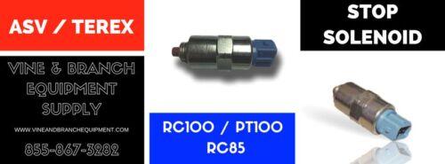 RC85 FACTORY ASV RCV PT100 TEREX  SHUT OFF SOLENOID RC100