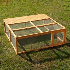 Recinto Gabbia  in legno  per roditori  animali  conigli o porcellini  L 150