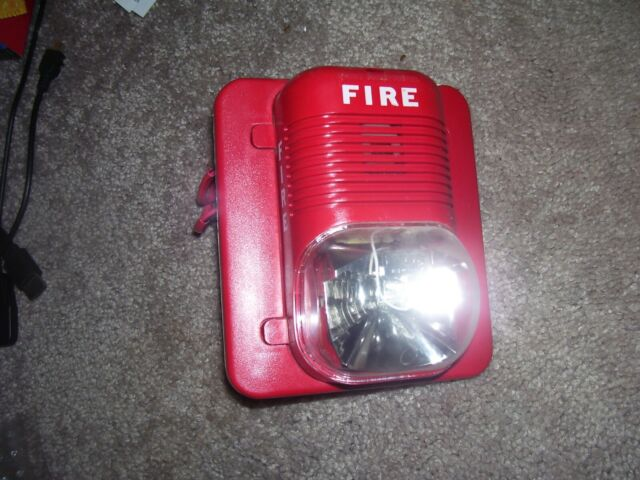FIRE WALL HORN STROBE SYSTEM SENSOR P2415