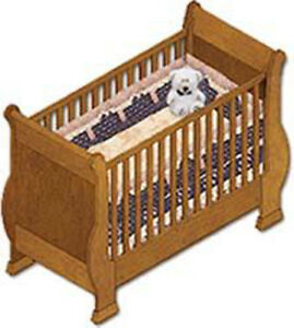 Sleight Baby Crib Furniture Woodworking Plans Instructions On