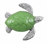 Mariposa Sea Turtle Napkin Weight, Green, New, Free Shipping on sale