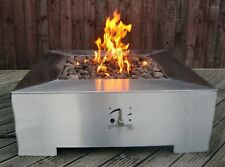 BrightStar Fires CAPELLA Gas Fire Pit Table with cover. Mains or LPG 18 kw UK