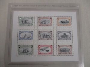 SHEET-STAMPS-BI-COLOR-RE-ISSUE-OF-THE-1898-TRANS-MISSISSIPPI-STAMP-DESIGNS-MINT