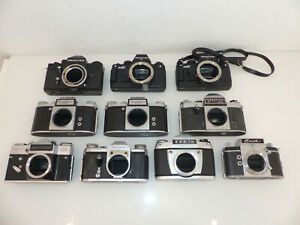 Radient Posten Kamera Bodys Kamerabodys Kameragehäuse Ua Von Praktica Pentacon Exa Analogkameras