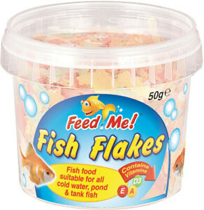 Tropical Fish Food Flakes Pond Sticks Cold Water All Types Guppys Tetra Gold Fi Ebay