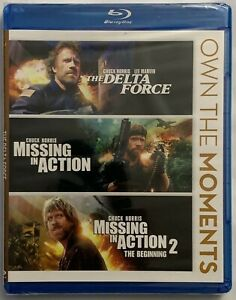 NEW-OWN-THE-MOMENTS-TRILOGY-BLU-RAY-3-DISC-DELTA-FORCE-MISSING-IN-ACTION-1-amp-2