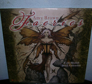 2012 Calendar Plus Hand Signed Print Signed SOLD OUT Amy Brown