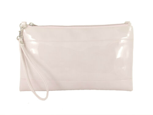 Divine Faux Patent Clutch//Shoulder//Crossbody//Wristlet Bag Wedding Prom Bag Large