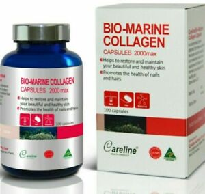 Careline-Bio-marine-Collagen-2000max-100-Capsules