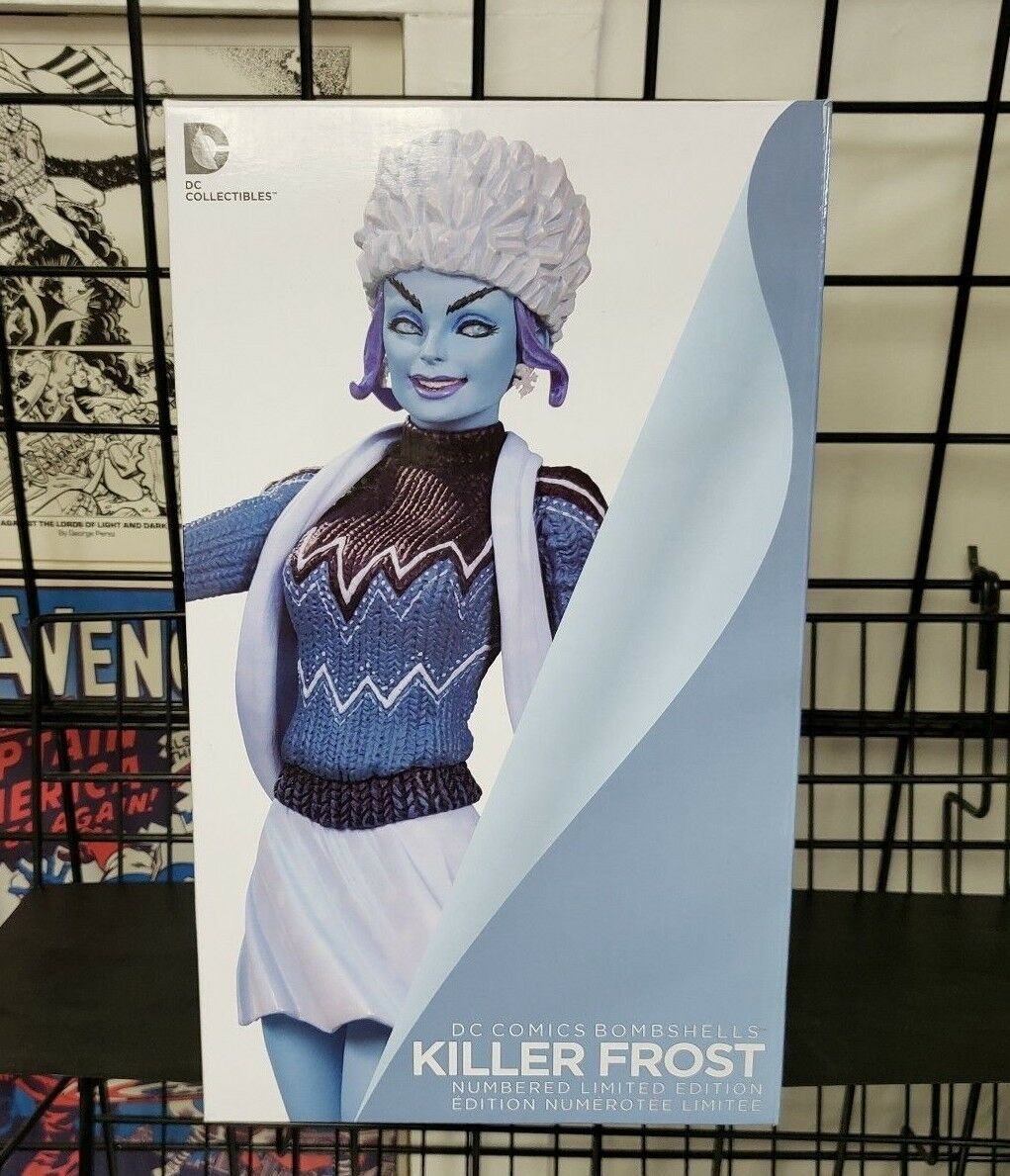 DC Collectibles Bombshells Series Killer Frost Statue Limited Edition Sold Out