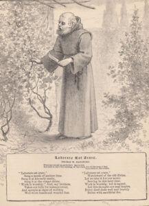 "1887 Castle Garden NY Art Print 11/"" x 17/"" Reproduction New York City"