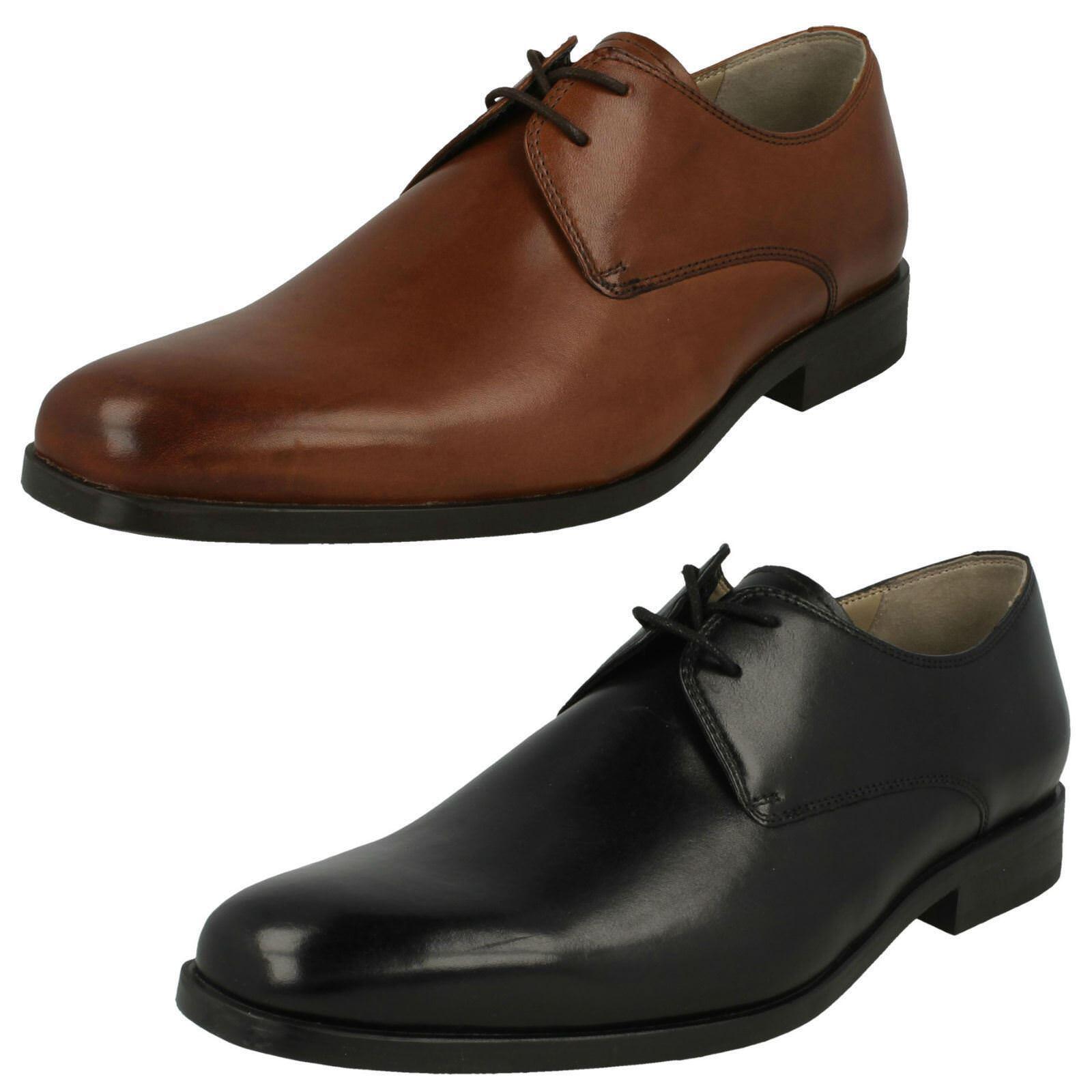 Clarks amieson Caminar Zapatos con cordones para hombre de cuero