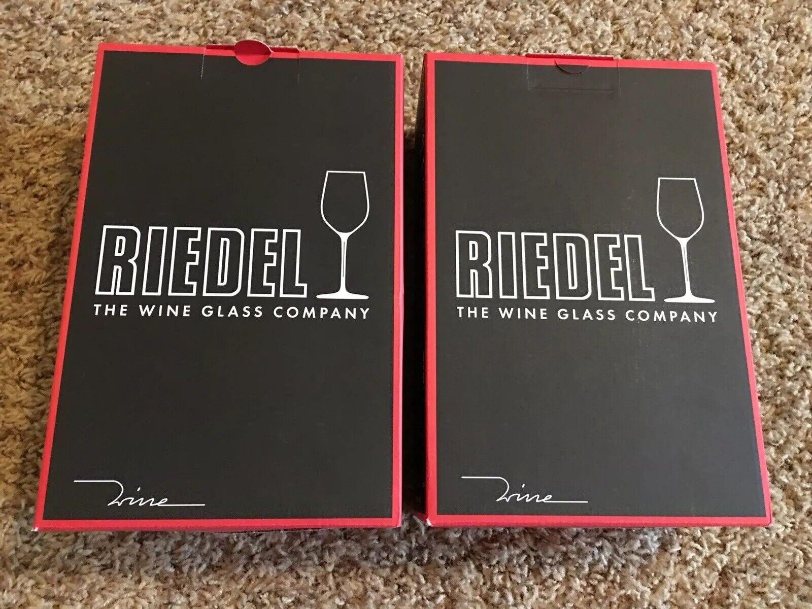 Nouveau  Riedel 4pc. Champagne verres  6448 08  Verre de Cristal Fabriqué en Allemagne