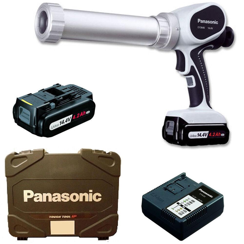 Panasonic Akku Kartuschenpistole Silikonpistole EY 3640 LS1S mit Koffer | Genialität  | Online Kaufen  | Outlet