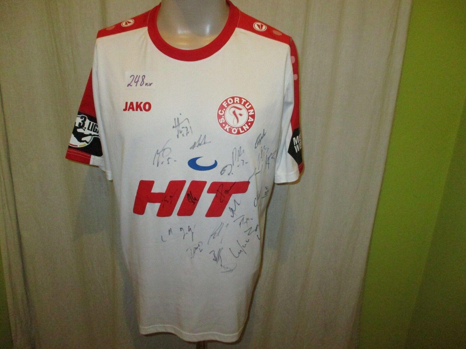 Fortuna Köln Jako Jako Jako Spieler Version Trikot 2016/17