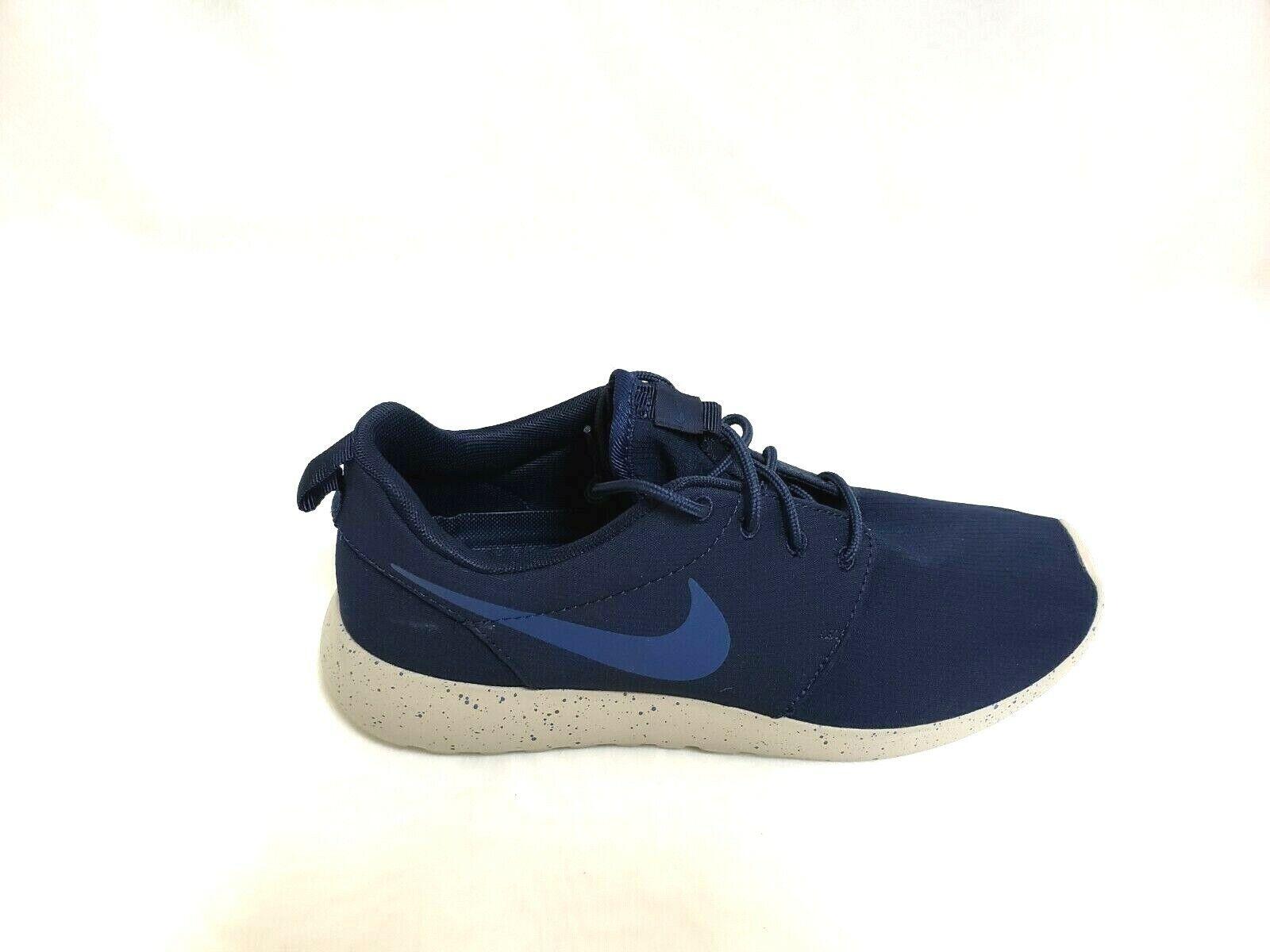 NEW  Men's NIKE Roshe One SE 844687-406 Obsidian Gym bluee 89D sm