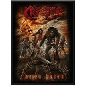 Kreator-Dying-Alive-Patch-Thrash-Metal-Official-New