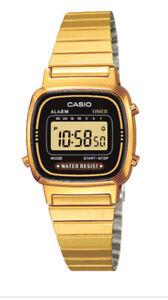 Casio-Classic-Ladies-Black-Dial-Gold-Plated-Digital-Watch-LA670WEGA-1EF-VYDT