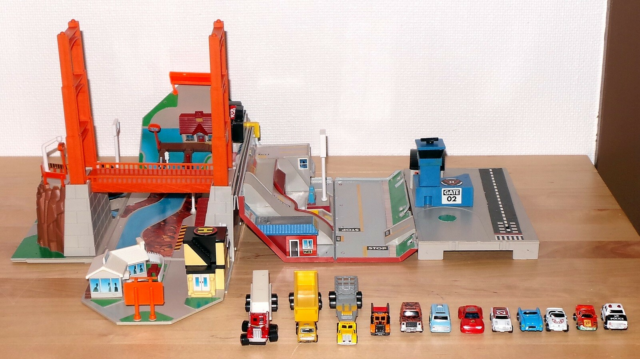 MicroMachines Super City Toolbox Playset, Lewis Galoob…