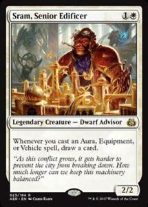 Sram-Senior-Edificer-x1-Magic-the-Gathering-1x-Aether-Revolt-mtg-card
