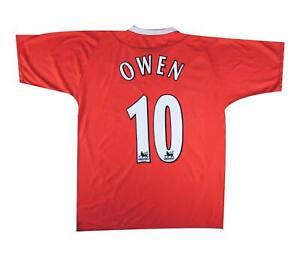 Liverpool 2002-04 Authentic Home Shirt Owen #10 (eccellente) XXL SOCCER JERSEY