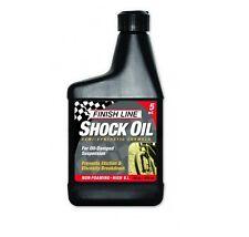 Olio per forcelle FINISH LINE 5 watt 475ml/SHOCK OIL 5WATT FINISH LINE