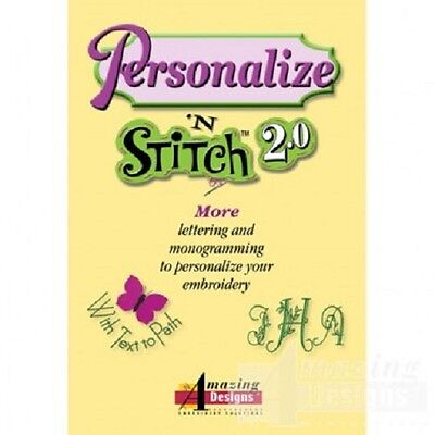 Personalize N Stitch 2 0 Embroidery Software Ebay