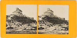 Italia Osservatorio Del Vesuvio Ca 1900, Foto Stereo Vintage PL61L12