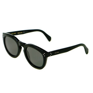 7c05662105fe Image is loading Celine-Polarised-Preppy-Black-Ladies-Sunglasses-CL41801-S-