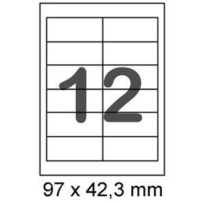Details Zu 1200 Etiketten 97x42 3 Mm Für Internetmarke Format Wie Herma 4623 5056 8628 4669