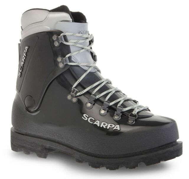 official site store great look Scarpa Inverno 12300/530 Black Pebax Vibram High Altitude Mountain Double  Boots