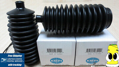 Rack /& Pinion Boot Kit for Acura RL 2005-2010 EMPI Bellow Boots Left and Right