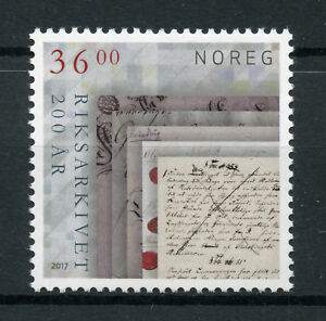Norway-2017-MNH-National-Archives-Bicentenary-1v-Set-Stamps