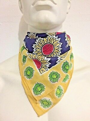 Vintage Wholesale Lot Bandana Head Scarf Neckerchief X 100