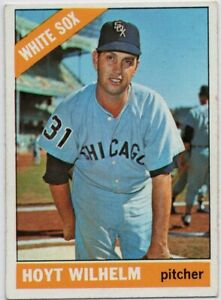1966-Topps-510-Hoyt-Wilhelm-EX-MT-Chicago-White-Sox-FREE-SHIPPING