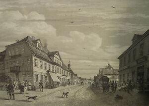 Hamburg Stich Hamburg Um 1850 /4462 Attraktives Aussehen Ansichten & Landkarten