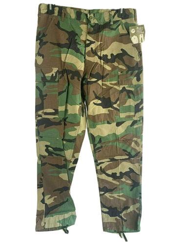 Rothco Mens BDU Camouflage Rip Stop Pants NWT Various Sizes Pants  BB0019